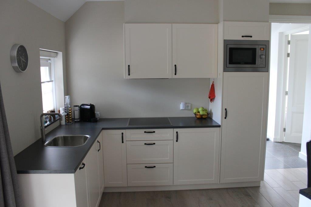 Aanrecht Keuken Hout Of Graniet : Timmerwerk keukens, Houten ...