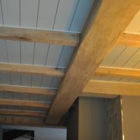 Balkenplafonds van hout houten balken plafonds voor keuken en woonkamer - Kamer met balken ...