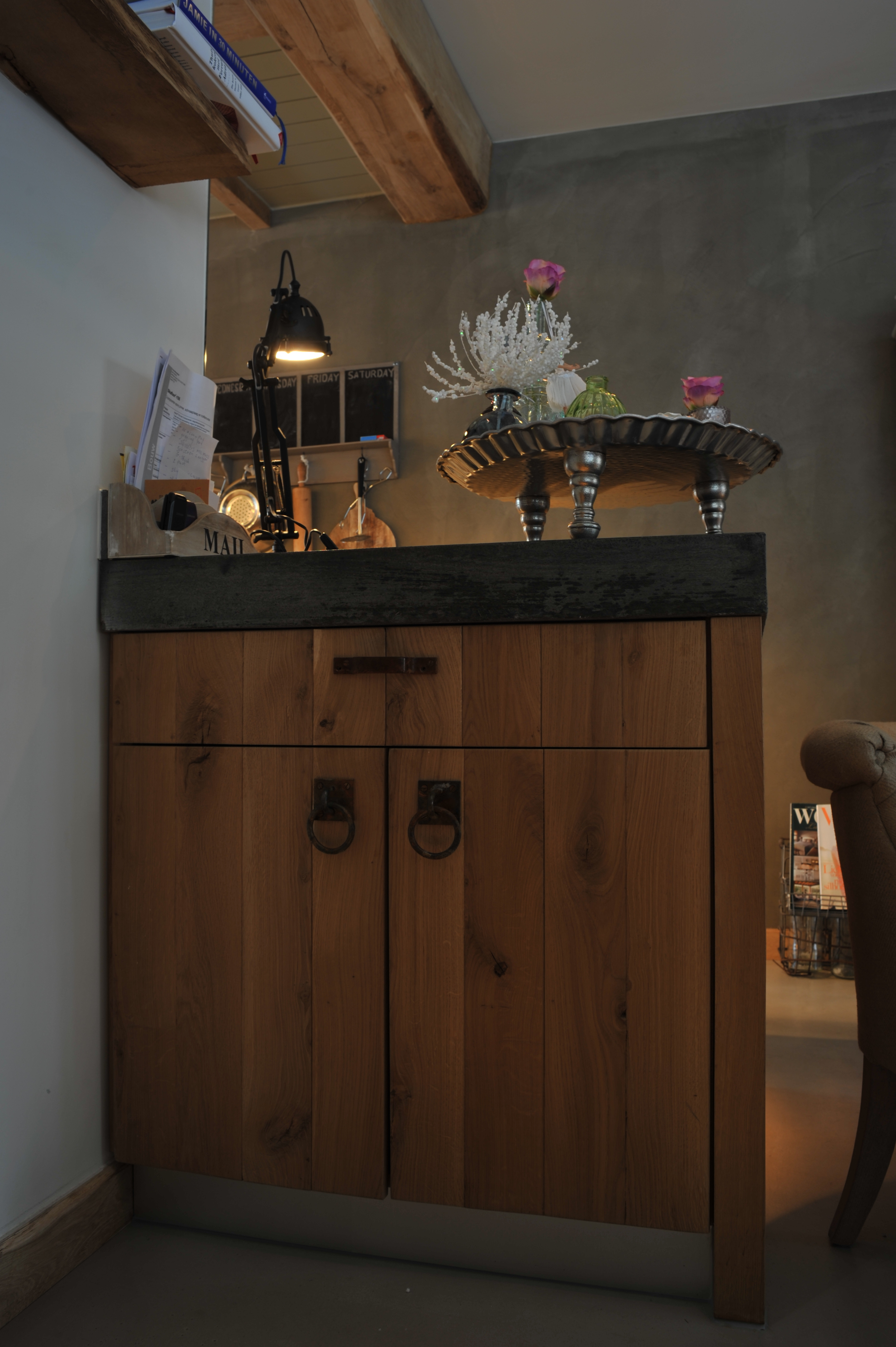 Houten meubels meubilair eiken hout steigerhout of sloophout - Houten meubels ...