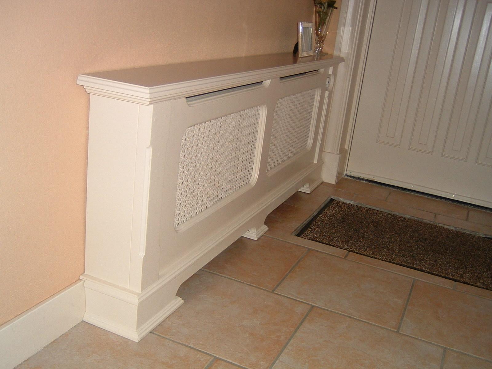 Ventilator Badkamer En Wc ~ Houten radiatorombouw, Radiator bekleding koof voor radiator van hout